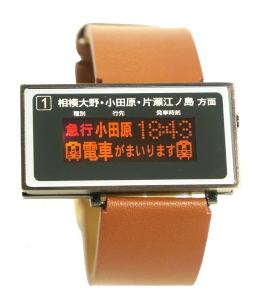 Photo1: ODAKYU LINE TRAIN WATCH / machida station version (1)