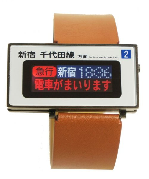 Photo1: ODAKYU LINE TRAIN WATCH / shimokitazawa station version (1)